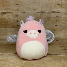 Squishmallows Pandora The Pegasus 5 Inch Pink Plush Silver Wings Kellytoy New Big Baby, How Big Is Baby, Best Christmas Toys, Sewing Stuffed Animals, Shops, Pets For Sale, Silver Wings, Squishies, 9th Birthday