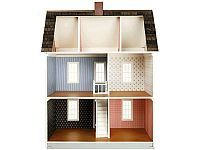 Real Good Toys 72, Quick Build Classic Colonial White Dollhouse