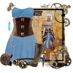 "steampunk disney | Kida - Steampunk - Disney's Atlantis : The Lost Empire"" by rubytyra ..."