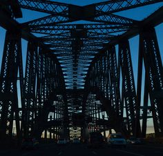 I couldn't resist another peep... Into the corset of the Sydney Harbour Bridge.