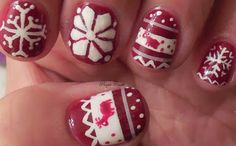 Christmas Sweater Nails 2013