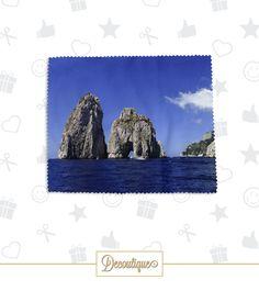 SALVIETTA OCCHIALI #occhiali #sunglasses #glasses #accessori #handmade #regalo #diy #italia #napoli #idearegalo #faraglioni #Capri #isola #panorama #island Codice: SLV045 Prezzo: 6,00 € Spedizione in Italia: 1,00 €  Per prenotare la tua Salvietta Occhiali contattaci in privato o all'indirizzo email info@decoutique.it Personalizza la tua Salvietta Occhiali con lo stile più adatto a te. Affidati a noi per la tua proposta grafica!