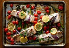 Sheet pan meals: A simple, flavorful way to get dinner on the table fast. Here's a recipe for Roasted Salmon and Asparagus