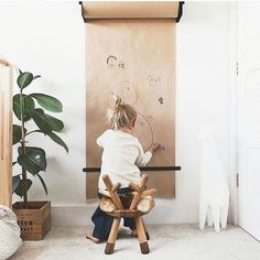Children's creativity begins with the empty paper roll. # starts with - Baby room decoration - Kids Playroom Baby Bedroom, Girls Bedroom, Trendy Bedroom, Swing In Bedroom, Kids Bedroom Lights, Safari Bedroom, Childs Bedroom, Baby Room Diy, Single Bedroom