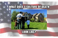 """Read: What does a """"culture of death"""" look like and how do we change it? http://www.firebreathingchristian.com/archives/10470"""