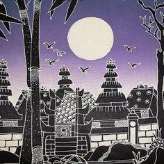 #purple #batik #art