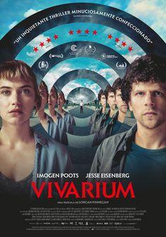 Jesse Eisenberg, Imogen Poots, and Senan Jennings in Vivarium Sci Fi Movies, Top Movies, Horror Movies, Movies To Watch, Vivarium, Scary Shows, Imogen Poots, The Stranger Movie, Film Studies