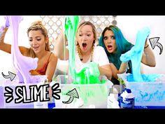 DIY SLIME TESTED w/ NIKI AND GABI!! Alisha Marie - YouTube