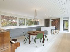 Describing his latest project, a house for his own family in a leafy suburb of Bergen, Todd Saunders says, 'It's like three sticks, stacked on top of each ot...