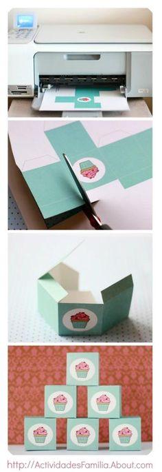 Cajas Imprimibles por Divonsir Borges