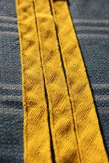 tablet woven band inspiered by Hochdorf woven by Aisling