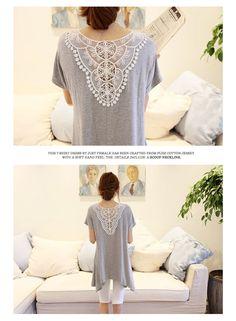 lace back shirts