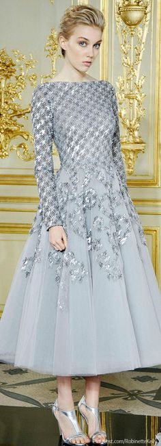 Hmmm...can't decide if I really like this or not. Rami Al Ali Couture Fall 2013