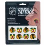 Chicago Blackhawks Peel and Stick Tattoos by Rico $5.95