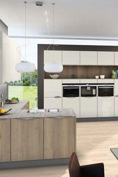 Eine Küche - unendlich viele Möglichkeiten! Wir nehmen dich mit auf eine Entdeckungsreise - mit unserem ewe Küchen Farbkonfigurator kannst du deine persönliche Lieblingsfarbkombination herausfinden! Gleich loslegen und Farben ausprobieren...🤗 Küchen Design, Divider, Room, Furniture, Home Decor, Infinite, Colors, Bedroom, Decoration Home