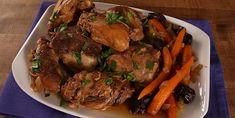 Délicieux poulet mijoté à la marocaine - Recettes - Ma Fourchette Confort Food, Pot Roast, Beef, Dishes, Chicken, Ethnic Recipes, Desserts, Souffle, Sauce