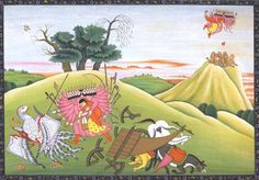 Abduction of Sita - will not use it for this round of the book - perhaps the next.