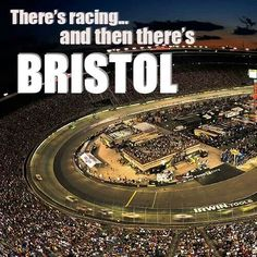 Bristol Speedway // one of MeetBall's many #Nascar tracks