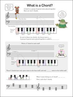 Look Inside Doctor Mozart Music Theory Workbooks
