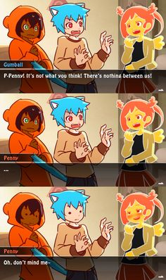 The Amazing World of Gumball: Visual Novel (Fake) by Mikeinel on @DeviantArt