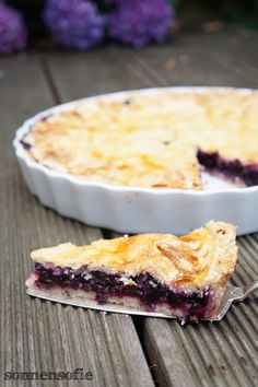 Blueberry Pie - Blaubeer Pie