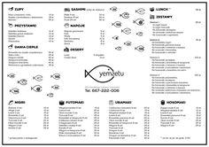 Yemsetu - sushi bar we Wrocławiu
