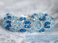 Crystal Bracelet Tutorial So Pretty - some other patterns on this site