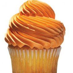 Orange Cupcakes Tropical Butter Cream by FantasyCavern