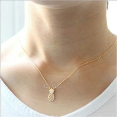 New pineapple necklace New gold color necklace **not brandy Melville brand Zara Other
