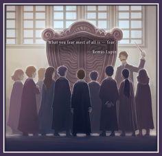 The back cover to Harry Potter and the Prisoner of Azkaban, designed by Kazu Kibuishi!