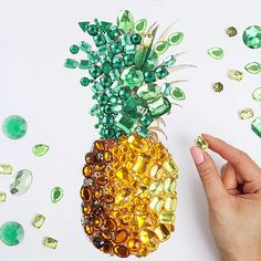 crystal pineapple