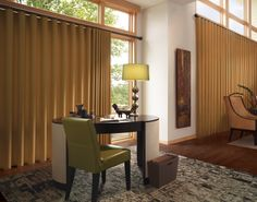 HunterDouglas Luminette Modern Draperies
