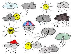 Wetter Icons, Wetter Symbole zur freien Nutzung, kostenlos, lizenzfrei!