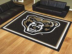 8' x 10' Area Rug - Oakland University Golden Grizzlies