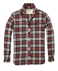 Japanese Flannel Check Shirt