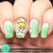 tinkerbell silhouette nails - Google Search Simple Nail Art Designs c409ec93da82
