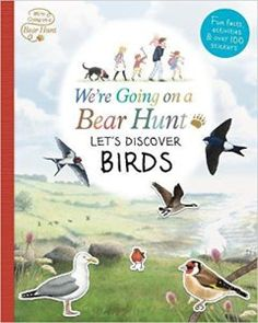 We're Going on a Bear hunt Let's discover Birds book cover