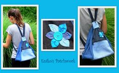 5 in 1 turquoise bag ---- 5 az egyben türkiz táska