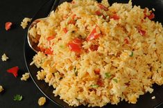 Southwestern Jasmine Rice - Jazz up dinner today with this delicious rice side dish Jasmine rice with southwestern seasoning and cilantro make a mild but colorful side dish for other Tex-Mex recipes. Seasoned Rice Recipes, Veg Recipes, Side Dish Recipes, Mexican Food Recipes, Crockpot Recipes, Yummy Recipes, Jasmine Rice Recipes, Rice Side Dishes, Main Dishes