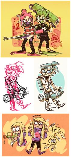 Splatoon by Z-T00N on DeviantArt