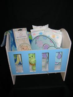 8 Best Baby Gift Baskets Images On Pinterest Baby Gift Baskets