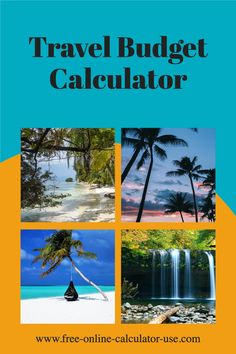 This calculator will help you to budget for a family vacation by allowing you to create your own self-calculating worksheet.You can create the worksheet either from scratch or from a sample travel budget, and you can include up to 8 categories, each with up to 10 expense items. Living On A Budget, Frugal Living, Budget Travel, Travel Tips, Travel Rewards, Budgeting Worksheets, Get Out Of Debt, Financial Success