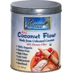 Raw Coconut Flour, 12 Pack, 1 lb. (454 g), From Coconut Secret
