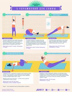Лечебная йога: 5 простых упражнений для спины и поясницы | Секреты красоты | Здоровье | Аргументы и Факты