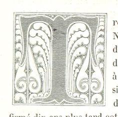 Letter T   Image taken from page 515 of 'La Russie ancienne et moderne, d'après les chroniques nationales, etc'
