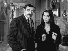 22 Tips About True Love From The Addams Family The Addams Family 1964, Addams Family Tv Show, Gomez And Morticia, Morticia Addams, Charles Addams, Tv Movie, The Originals Show, Carolyn Jones, Steve Aoki