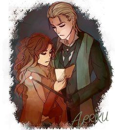 Rose and Scorpius - auror partners