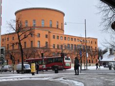 Stadsbiblioteket i Stockholm, arkitekt Gunnar Asplund, 1928, Public Library Stockholm
