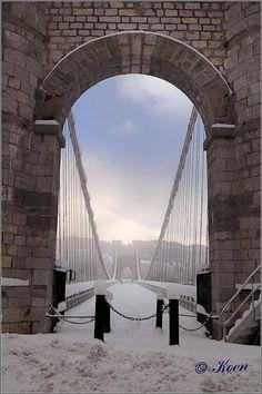 Pont de la Caille à Cruseilles en Haute Savoieà côté d'Annecy