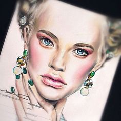 Artist of the week goes to @kryatova.nata she is very talented and I feel like I…